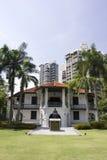 Słońca Yat Sen Nanyang Memorial Hall, Singapur Obraz Royalty Free