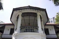 Słońca Yat Sen Nanyang Memorial Hall, Singapur Zdjęcie Royalty Free
