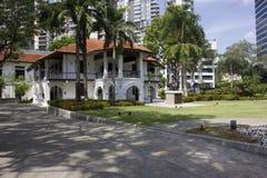 Słońca Yat Sen Nanyang Memorial Hall, Singapur Zdjęcia Royalty Free