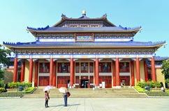 Słońca yat sen pamiątkowa sala, Guangzhou, porcelana Zdjęcia Royalty Free
