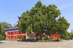 Słońca yat sen pamiątkowa sala, Guangzhou, porcelana Obraz Royalty Free