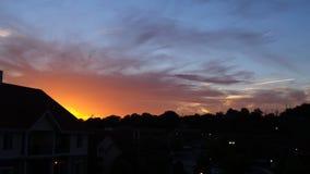Słońca Zestrzelać Fotografia Royalty Free