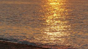 Słońce ślad na falach zbiory wideo