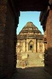 słońce świątynia Fotografia Royalty Free