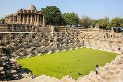 Słońce świątynia, Modhera, India Obraz Stock