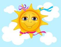 słońce Zdjęcia Royalty Free
