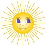 słońce royalty ilustracja