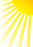 słońce Obraz Royalty Free