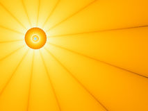 słońce abstrakcyjne ilustracyjny Obraz Stock