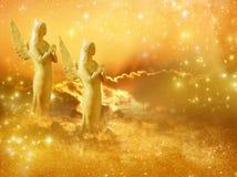 Słońce aniołowie zdjęcia stock
