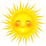 słońce biel Royalty Ilustracja