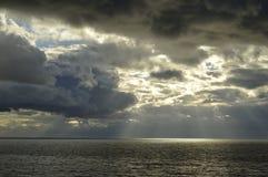 Słońce I Chmury zdjęcia royalty free