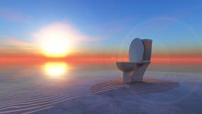 Słońce i plaża Zdjęcie Stock