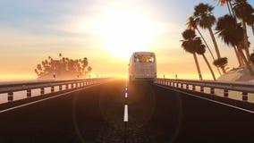 Słońce i plaża Zdjęcia Stock