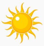 Słońce ikona ilustracja wektor