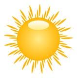 słońce ilustracyjny Obrazy Stock