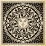 Słońce kompas