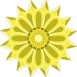 Słońce kwiatu mandala Fotografia Royalty Free