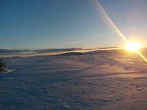 Słońce lód Zdjęcia Stock