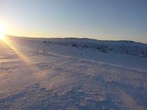 Słońce lód Obrazy Stock