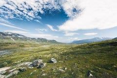 słońce Lapland słońce Fotografia Stock