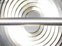 słońce metali Fotografia Stock