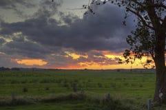 Słońce nad Gager Fotografia Royalty Free