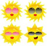 słońce okulary przeciwsłoneczne Ilustracji