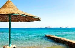 słońce parasol fotografia royalty free