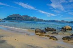 Słońce plaża Obrazy Royalty Free
