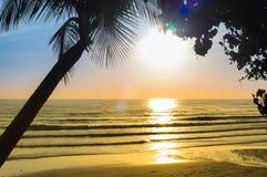 Słońce plaża obraz royalty free