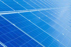 Słońce poborcy energetyczny panel Fotografia Stock