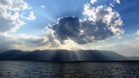 Słońce promienie Zdjęcie Royalty Free
