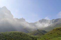 Mgła na Ansabère Zdjęcie Royalty Free