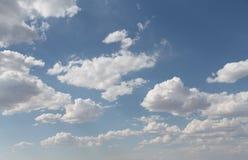 Słońce przez chmur Obraz Stock