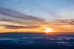 Słońce przychodzi up Obraz Royalty Free