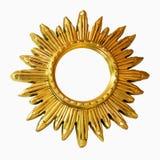 słońce ramowy Fotografia Royalty Free
