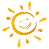 słońce się śmieje Obrazy Stock