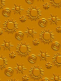 słońce tła Obraz Royalty Free