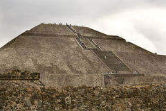 /słońce teotihuacan piramidy Zdjęcia Stock