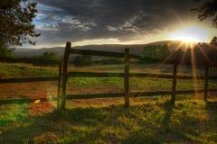 słońce Tuscan Obraz Stock