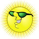 słońce uśmiecha się Zdjęcia Royalty Free