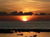 słońce wkurzająca Zdjęcie Royalty Free