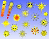 słońce wyboru ilustracji
