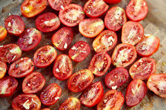 Słońce wysuszeni pomidory Obrazy Royalty Free