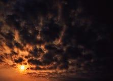 Słońce wzrost Obraz Royalty Free