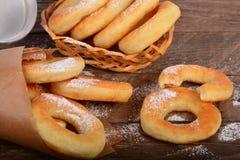 Słodcy świezi donuts Obraz Royalty Free