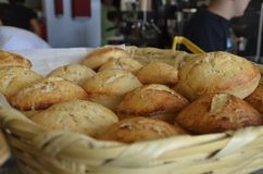 Słodcy ciastka przy Meksykańską piekarnią Zdjęcie Royalty Free
