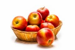 Słodcy czerwoni jabłka Fotografia Stock