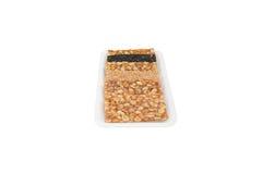 Słodka arachidowa przekąska Fotografia Stock